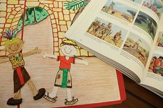 Book of Mormon paper doll templates. Great way to help teach the scriptures to kids.