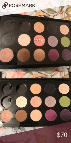 """Bundle of M.A.C shadows with zpalette Oh boy.. this was a hard one for me! Some of my MAC shadows with my MAC pro palette to go with it! I love these shadows but I am saying """"out with the old and in with the new!"""" Not that these are old! Not even 4 months old! But I like to change my makeup up often and so here we go! Colors are Idol Eyes, Rice Paper, Carbon, Shroom, Vanilla, Gleam (Shimmer pink) Lime, All That Glitters, Brûlée, Vibrant Grape, Indian Ink. I will keep this if I do not get a…"""