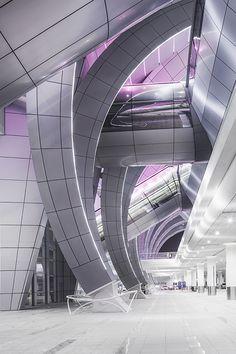 Terminal at Dubai Airport...photo by Alisdair Miller
