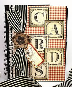 Specifically this is a genius ABC Primer card organizer by @Charlene Driggs for our May Arts blog hop this week! Check it out - this is a great idea!