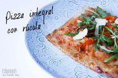 Receta de pizza integral - Esturirafi