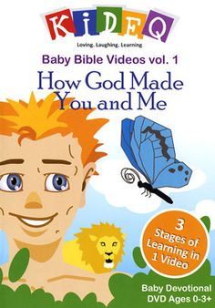 Baby Bible Videos Vol. 1: How God Made You and Me - Christian Movie/Film on DVD. http://www.christianfilmdatabase.com/review/baby-bible-videos-vol-1-how-god-made-you-and-me/