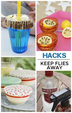 How to keep flies off your food! Definitely worth reading as it gets warmer outside.