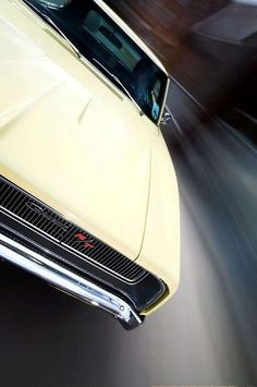 1968 Dodge Charger R/T - One of my favourite cars.