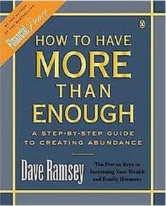 Combines practical advice, inspiration, and common sense to explain how to achieve financial prosperity, offering a balanced approach that emphasizes the importance of family success and marital strength. Make Money From Home, How To Make Money, Dave Ramsey, Free Tips, Debt Free, Common Sense, Step Guide, Budgeting, Strength