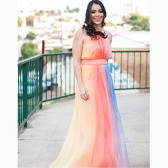 A gata @milaroza arrassou na escolha do 'long dress' para deixar o domingo mais alegre, A-M-A-M-O-S e você?❤️❤️❤️📷@lookmodasg #reginasalomao #SummerVibesRS #SS17 #momentoRS
