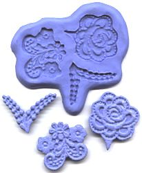 CK -- Flower Designs ii Mold (silicone) -- $25.99