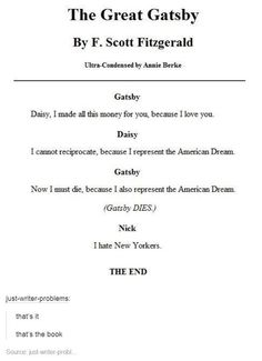 great gatsby american dream quotes