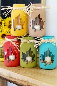 enfeite de natal reciclado potes de vidro pintados