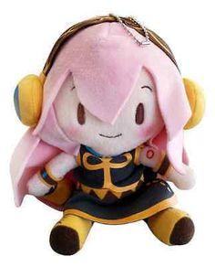 "Megurine Luka Sega Hatsune Miku Vocaloid Vol. 2 Soft Collectible 7"" Plush Toy"