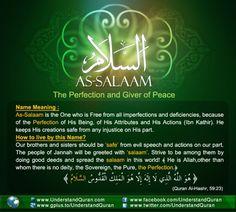 Name 5 Al Salam