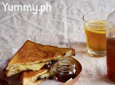Grilled Cheese Sandwich with Rum-Raisin Jam Recipe