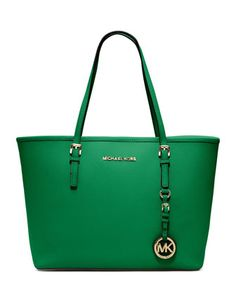 Make them green with envy. MICHAEL Michael Kors Jet Set Tote.