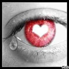 Yeux en Coeur