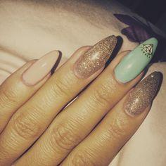 #mine#nails