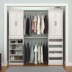 This way to stylish storage. Tap this post to shop modular closets!  #ClosetMaid #HomeOrganization #GuestRoom #HomeDecor  #InteriorDesign #Closet #ClosetOrganization Smart Closet, Closet Rod, Kid Closet, Closet Shelves, Closet Storage, Shelving Design, Shelving Systems, Shoe Storage Unit, Modular Closets