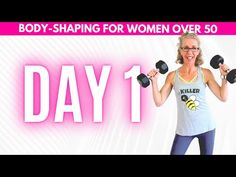 PUSH Strength Training 💪 Day 1 💪 Body Shaping for Women over 50