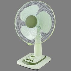"""The Unielek 3-Speed 12"""" Table Fan will help you feel cooler and comfortable throughout the year. With it 12-inch blades and oscillating fan head, this cooling fan can cover a large part of the room and provide maximum cooling. This portable fan is perfect for your home, office, kitchen counter, den, or any space where personal cooling is required. It is easy to assemble and having an energy-saving timer that turns the device off at the time you set saving you even more on energy costs. Solar Fan, Stand Fan, Portable Fan, Save Energy, Ceiling Fan, Den, Counter, Space, Easy"""