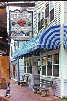 Jordan's Restaurant, Bar Harbor...literally, the BEST blueberry pancakes you will ever have :)