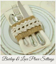 11 FREE Crochet Napkin Rings Patterns