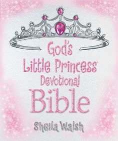 God's Little Princess Devotional Bible  Teach your little princess to learn and grow in the Lord with this best-selling devotional Bible for girls.  A good dose of God's truth combined with lots of sparkle, God's Little Princess Devotional Bible will help your little girl blossom into the faithful princess she was created to be! Actual International Children's Bible® text is joined with devotionals and activities that focus on such virtues as compassion, generosity, and kindness in fun and…