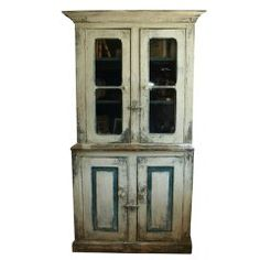 French Antique Mid 19th Century Armoire In Bleached Oak at 1stdibs