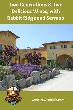 Rabbit Ridge and Serrano Wineries: Discover them with The California Wine Club California Wine Club, Wine Brands, Wines, Glass, Drinkware, Glas
