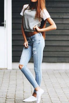 Cute outfits with skinny jeans pinterest