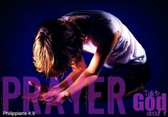 Inspirational Bible Verses - Philippians 4:6 - Prayer