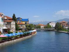 Struga, Macedonia. Struga is a town and popular tourist destination situated in the south-western region of the Republic of Macedonia, lying on the shore of Lake Ohrid.