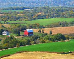 """I grew up on a farm in Iowa (not this one), and loved every minute of it!  I love going back out and visiting the """"country"""" life."""