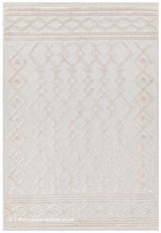 Geometric Lines, Geometric Designs, Outdoor Rugs, Outdoor Living, Polypropylene Rugs, Shades Of White, Simple Living, Living Spaces, Area Rugs
