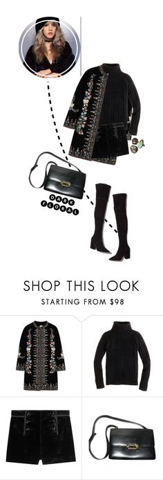 """» rooms on fire «"" by jacey-xoxo ❤ liked on Polyvore featuring Vilshenko, J.Crew, Emilio Pucci, Loeffler Randall and Hermès"