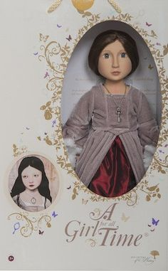 "Matilda Your Tudor Girl - A Girl For All Time 16"" Doll 