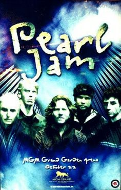 Mgm Grand Garden Arena, Pearl Jam, Concert Posters, Being Ugly, Pj, Bands, Music, Pearls, Musica