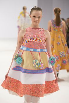 Chen-Yu Wang - Graduate Fashion Week 2013 - London - United Kingdom