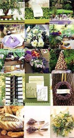 Wanwisa Wednesday: Herbs de ProvenceInspiration - Southern Weddings - Southern Weddings Magazine
