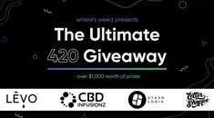 One Platinum prize winner will receive a LEVO II infusion machine, a Stashlogix storage bundle, a selection of products from CBD Infusionz and Terpy J's and swag from Where's Weed – approximate total value of $1150. One Gold prize winner will receive a Stashlogix prize bundle, products from CBD Infusionz and Terpy J's, a LEVO cookbook and swag from Where's Weed – approximate total value of $485.