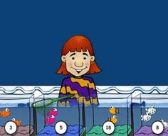Fish Shop...practice multiplication skills (easy, medium and hard) Cute and very fun game!