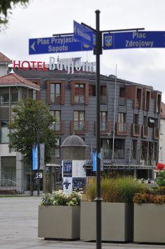 Sopot Plac Przyjaciół Sopotu. Sopot city center