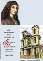 Carte philatélique soulignant le 400e anniversaire de Jeanne Mance