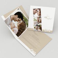 Hochzeitskarte Tri Fold Wedding Invitations, Handmade Invitations, Birthday Invitations, Wedding Pinterest, Wedding Thank You Cards, Photo Book, Invitation Cards, Wedding Ceremony, Wedding Planning