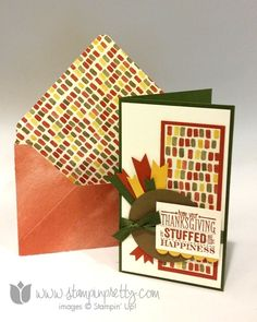 Stampin up stamping pretty turkey punch art thanksgiving holiday card ideas demonstrator blogs mingle all the way