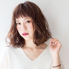 Media?size=l Girl Short Hair, Short Hair Cuts, Short Hair Styles, Bob Perm, Hair Arrange, Keratin Hair, Hairstyles With Bangs, Cut And Color, Your Hair