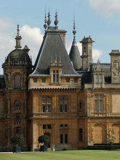 Waddesdon Manor  rooflines..