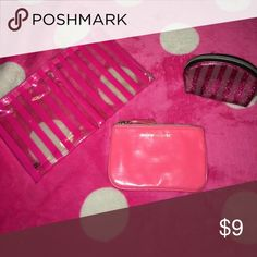LOT VS ACCESSORY WALLET MAKEUP BAG LOT VS ACCESSORY WALLET MAKEUP BAG PINK Victoria's Secret Accessories