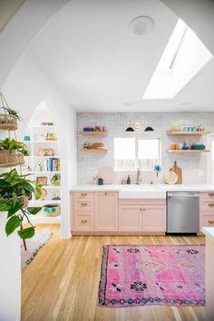 Steps to A Fab Kitchen In 2020 the Mindwelling Our Kitchen Reveal Studio Diy Of 87 Awesome Steps to A Fab Kitchen In 2020 Architecture Renovation, Home Renovation, Layout Design, Oak Floating Shelves, Orange Kitchen, Boho Kitchen, Kitchen Design, Pastel Kitchen, Retro Kitchen Decor