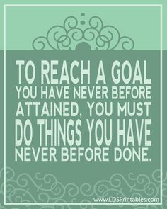 Reach Your Goals. Elder Richard G. Scott. The Church of Jesus Christ of Latter-Day Saints.