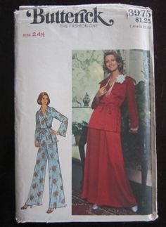1970s Vintage BUTTERICK 3975 Misses Half by FabulouslyFunFinding, $3.95