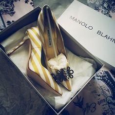 世界で唯一走れるピンヒール!1足は欲しいマノロ・ブラニクの靴♡